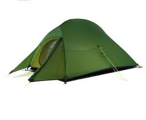 Camping Hiking Tent Durable Outdoor Double Layer Four-season Tents Portable Sets