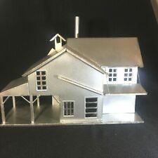 Mini Miniature Building House Structure Tin Metal FarmHouse Decor DIY Succulent