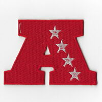AFC Championship Playoffs Iron on Patches Embroidered Patch Badge Emblem Sew FN