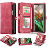 For Samsung Galaxy Note10 S10 Leather Magnetic Flip Wallet Case Cover Card Slot