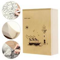 A4 40 Seiten Notizbuch Innenseite Graffiti Draft Sketchbook Verdicktes Bei Heiß