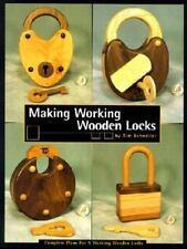 Making Working Wooden Locks (Woodworker's Library), Detweiler, Tim, Books
