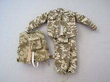 1/6 BRITISH ARMY DESERT UNIFORM AND FLAK VEST FROM DRAGON