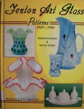 FENTON GLASS $$$ PRICE GUIDE COLLECTOR'S BOOK  Vases Baskets Bowls Candlesticks