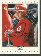 Autographed Baseball Card - CHAD MOTTOLA - Cincinnati Reds - 1996 Score  #23