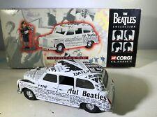 THE BEATLES COLLECTION Newspaper Taxi CORGI CLASSICS w/Box *NO FIGURE 1997