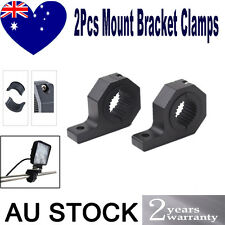 2x2'' Offroad Bullbar Mounting Bracket Clamp LED Work Light Bull Bar Roll MOUNT