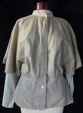 Women's Malkorta Cape Jacket Top Made in Italy Size 44 Large/Medium