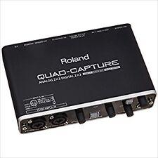 Roland audio interface QUAD- CAPTURE UA-55 USB Japan24bit/192kHz USB 4IN/4OUT