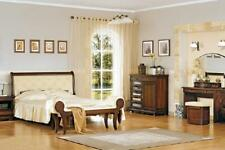 Italian Style Bedroom Complete Furniture Bed Night Table Cabinet Dresser 3