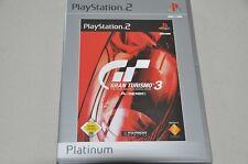 Playstation 2 Spiel - Gran Turismo 3 - Platinum -  komplett Deutsch PS2 OVP