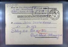 Camp Stalag IID Stargard 1940 POW Prisoner of War Kriegsgefangenenpost L39