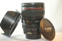 Canon EF 24-105mm F/4 L USM IS ZOOM lens EW-83H for EOS 3 1V T6 80D 70D 7D 5D 6D