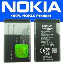 Batterie d'origine Nokia BL-5C Pile Pour Nokia X2-02 / X2-05 / C2-00 / C2-01