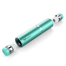 SAVFY MINI Casque Ecouteur Bluetooth Sans fil + Boîtier recharge portable Bleu