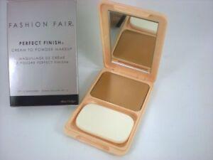 Fashion Fair Oil-Free Perfect Finish Cream to Powder cream Makeup BNIB
