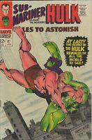 Tales to Astonish #87 ORIGINAL Vintage 1967 Marvel Comics Hulk Namor Krang