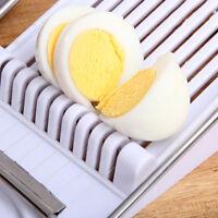Egg Slicer Chopper Cutter Stainless Steel Gadget Fruit Wire Tool Kitchen Tool LD
