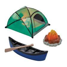 Camping Set Cake Decoration - Fireside Camp DecoSet- Cake Topper