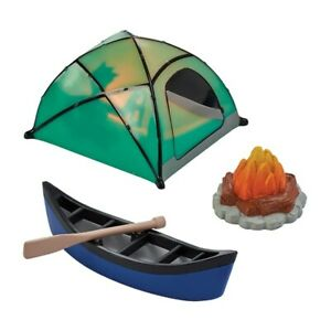 Camping Set Cake Decoration - Fireside Camp DecoSet- Cake Topper