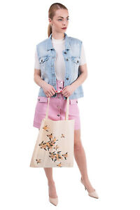 HOSS INTROPIA Tote Shopper Bag Large Printed Two Handles Made in Portugal