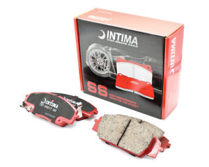 Intima SS Front Brake Pads for Honda Type R EP3 FN2 DC5 S2000 IN1452
