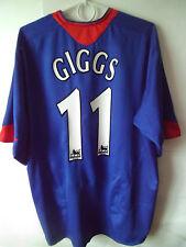 RARE!!! GIGGS !! 2005-06 Manchester United Away Trikot Shirt Jersey XL