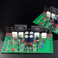 Assemble 2SC3264 HIFI Stereo Power Amplifier Board Based on Burmester 933 Amp