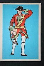 45th Foot (Sherwood Foresters)  Nova Scotia   circa 1748   Uniform Card