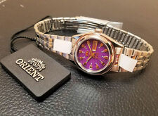 Orient Ladies Classic Dress Watch Automatic Purple Dial FREE US SHIP