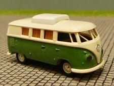 1/87 Brekina # 1073 VW T1 b Camper hellbeige grün 31515