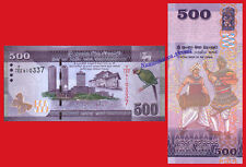 SRI LANKA 500 Rupees 2016 Pick NEW 126 SC /  UNC