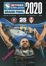 More details for betfred super league grand final 2020 st helens v wigan 25th anniversary!