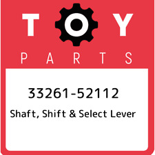 33261-52112 Toyota Shaft, shift & select lever 3326152112, New Genuine OEM Part