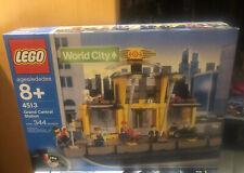 NEW LEGO Train 9V World City 4513 Grand Central Station