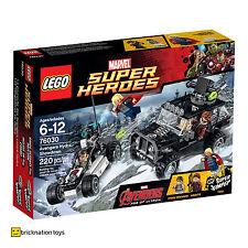Lego 76030 Marvel Super Heroes Vengadores Hydra Showdown Nuevo Y Sellado