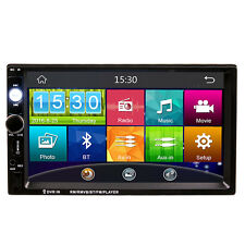 2Din Car In Dash MP3 MP4 Video Player Radio Bluetooth 7 Inch HD Touch Screen