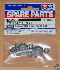 TAMIYA 50602 Differential Bevel Gear Set (9405620/9405654/9805298), Neuf sous emballage