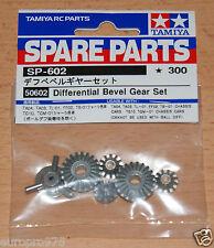 Tamiya 50602 Differential Bevel Gear Set (9405620/9405654/9805298), NIP