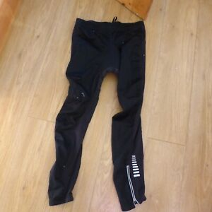 Crane cycling trousers tights black padded size L