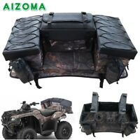 For 4-Wheeler ATV Rear Luggage Storage Bag Cargo Gear Seat Bags Waterproof