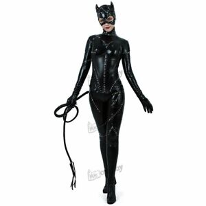 Catwoman Cosplay Costume Movie Design Limited edition High Quality Halloween