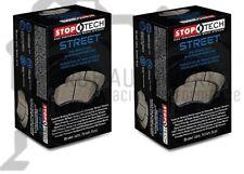StopTech Street Brake Pads For 99-05 Mazda Miata MX-5 / Front & Rear Set