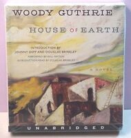 House of Earth Woody Guthrie novel Texas Johnny Depp unabridged audio book CD
