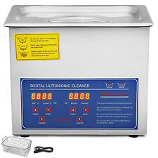 3l Digital Stainless Ultrasonic Cleaner Bath Cleaning Tank Timer&heater