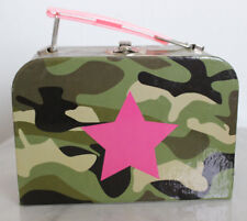 NWT Leg Avenue Camouflage Army Military Bag Purse Paperboard Metal Closure c5