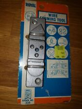 Royal Tools Wire Forming Tool Stock No. 335