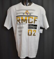 Real Madrid Mens RCMF Football Club Soccer Shirt NWT 2XL
