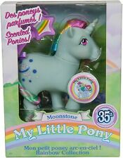 NEW MY LITTLE PONY MOONSTONE 35TH ANNIVERSARY SCENTED RAINBOW PONIES COLLECTION