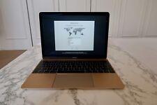 Apple Macbook 256GB GOLD Laptop (Retina, 12 pollici, inizio 2015) * BELLISSIMI!!! *